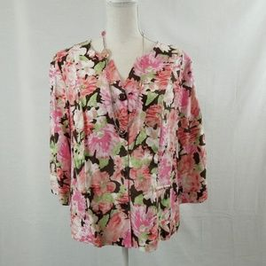 Choices Lightweight Floral Jacket L